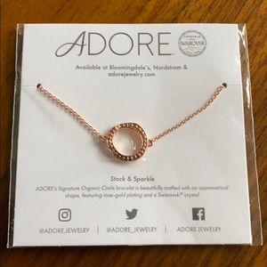 ⭐️Brand New ADORE Circle Rose Gold Bracelet.⭐️